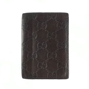 GUCCI Monogram Card Holder Wallet